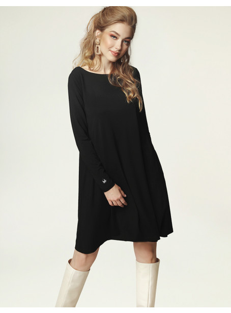 Jackie Winter Dress - black