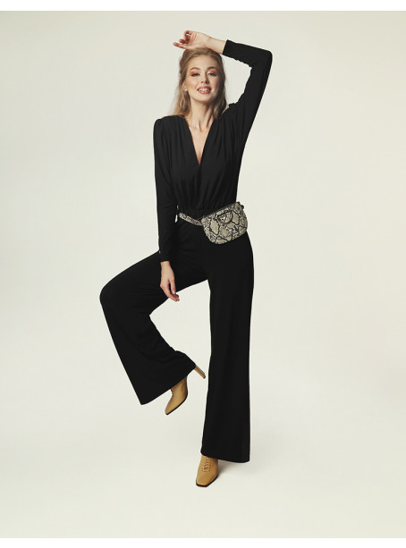 Sally jumpsuit - black