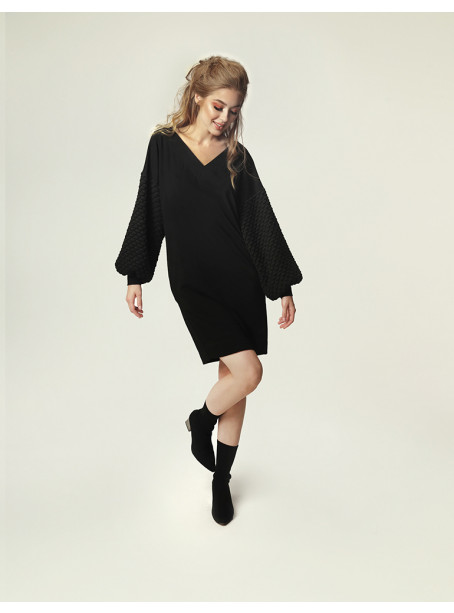 Grace J. dress - black