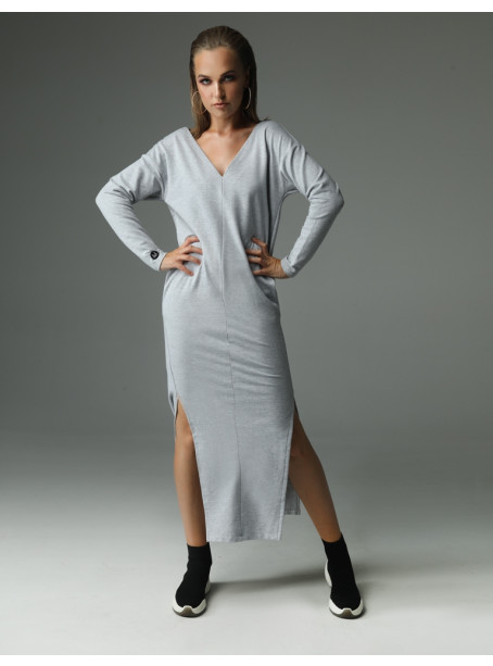 The Ruler Dress - gray