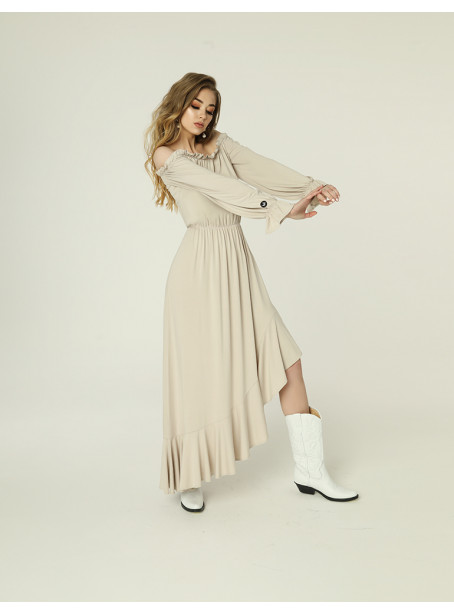 Emma dress - light beige