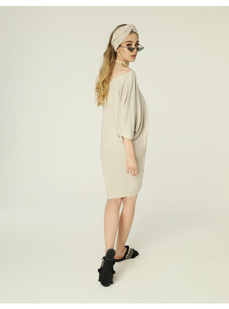 Nelly dress - light beige