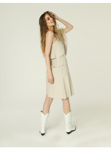 Rita dress - light beige