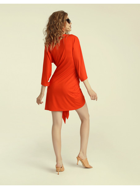 Chilena mini dress - chilli