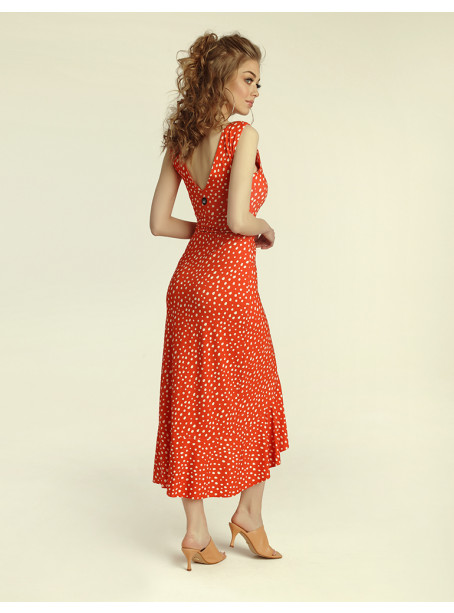 Flamenco dress - Carnaval print
