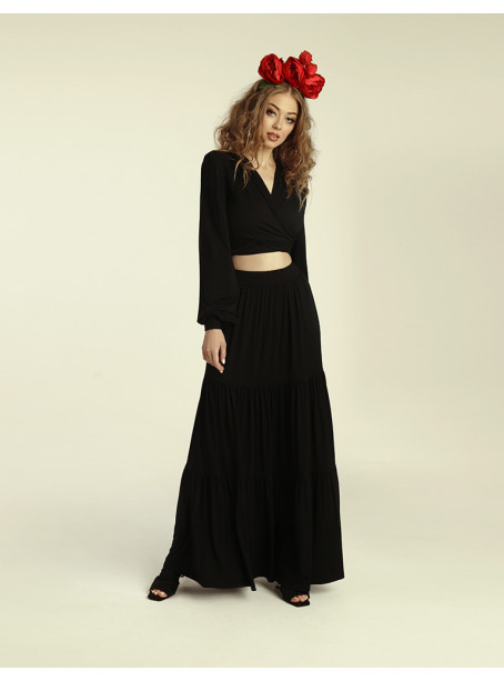 Cumbia skirt - black